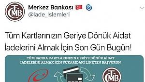 Twitter'daki sahte merkez bankası reklamına dikkat!