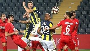Ümraniyesporlu taraftarların tezahüratı Fenerbahçelileri kızdırdı