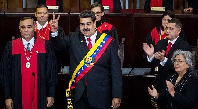 """Venezuela Devlet Başkanı Nicolas Maduro : """"ABD'nin halk düşmanı olduğu meşhurdur"""""""