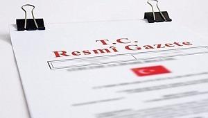 Vergi Kanunları ile Bazı Kanun ve KHK'de Değişiklik Yapılmasına Dair Kanun, Resmi Gazete'de