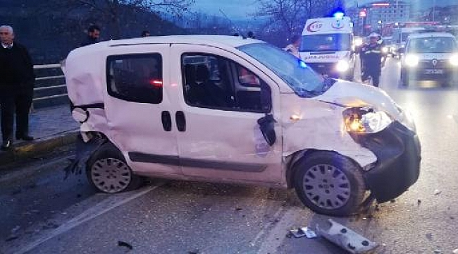 16 yaşındaki alkollü sürücü, zincirleme kazaya neden oldu