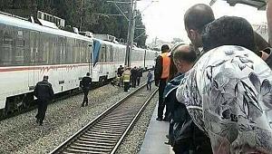17 yaşındaki kızın feci sonu... Trenin altına atladı