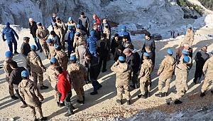 3 işçinin öldüğü maden faciasında, 3 şüpheli adliyede