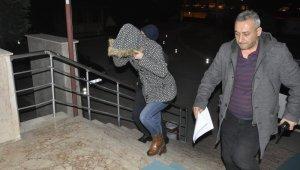4 ayrı suçtan yakalama kararı bulunan, cezaevi firarisi kadın evine dönünce yakalandı