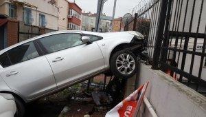 75 yaşındaki adam kızının aracını kaçırarak dehşet saçtı