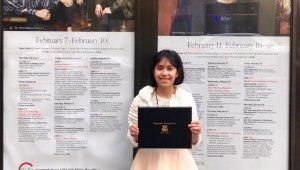 9 yaşındaki müzik dehası Arya Su büyük ödülünü Newyork'ta aldı - Bursa Haberleri