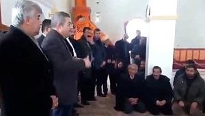 AK Partili aday, Camide seçim çalışması yaptı