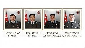 Askerlerin isimleri belli oldu