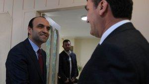 Başkan Dündar'dan MHP'ye ziyaret - Bursa Haberleri