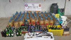 Bursa'da bin 400 litre kaçak alkol ele geçirildi - Bursa Haberleri