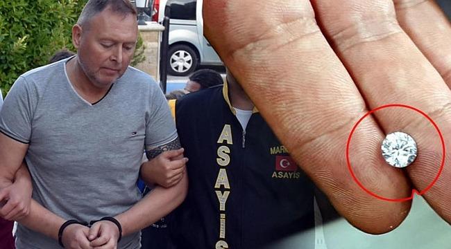 Çaldığı pırlantayı yutan İrlandalı turistin cezası belli oldu