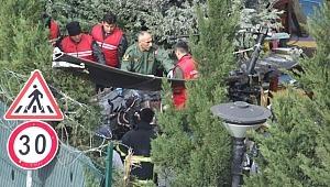 Çekmeköy'de kaza kırım ekibi incelemelere başladı