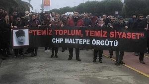 CHP'liler adayı beğenmedi, İlçe örgütü Ankara'ya doğru yürüyüşe geçti