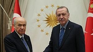 Cumhurbaşkanı Erdoğan'dan Bahçeli'ye 'teşekkür' telefonu