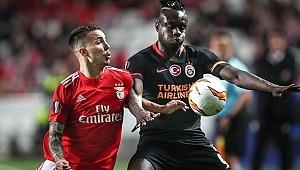 Diagne, Benfica maçında Fatih Terim'i çıldırttı!