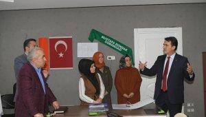 Dündar, AK Parti Osmangazi SKM'yi ziyaret etti - Bursa Haberleri