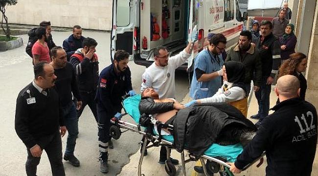 Duruşma sonrası ortalık karıştı, Gazeteci vuruldu