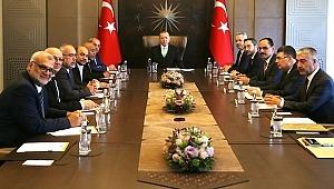 Erdoğan, İsrail Parlamentosundaki Arap kökenli vekilleri kabul etti,