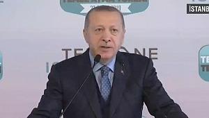 Erdoğan, Tersane İstanbul'un temel atma töreninde konuşuyor