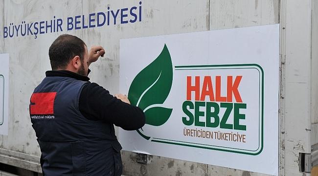Erdoğan'ın müjdesini verdiği tanzim satış için çadırlar kuruldu