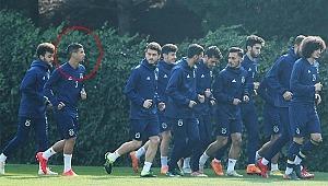 Fenerbahçe antrenmanında sürpriz isim... Kimse tanıyamadı