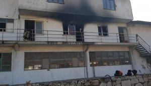Gemlik'te mermer fabrikasında yangın - Bursa Haberleri