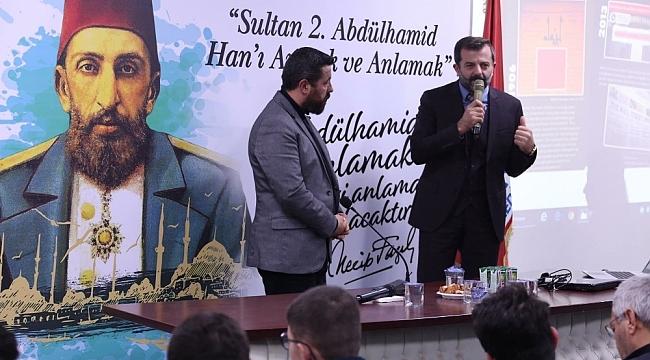 """Gürsu Belediyesi'nden """"Ulu Hakan Abdülhamid Han"""" konferansı - Bursa Haberleri"""