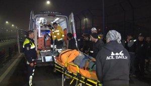 Haliç Köprüsü'nde art arda 2 trafik kazası: 4 yaralı