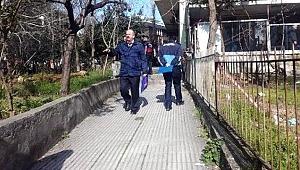 İstanbul'da riskli olduğu tespit edilen 80 daireli site mühürlendi