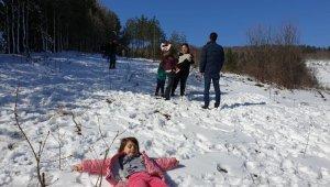 İznik'te Uludağ'ı aratmayan görüntüler - Bursa Haberleri