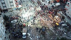 Kartal'da çöken binada Ölenlerin sayısı 18'e yükseldi