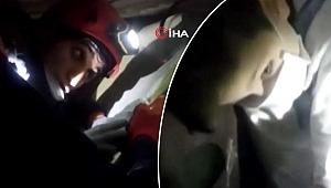 Kartal'daki enkazdan Tayyip Alemdar böyle kurtarıldı…