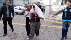 Kayseri'de 3 evden 50 bin TL çalan 5 kadın yakalandı