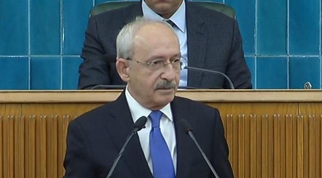 Kemal Kılıçdaroğlu CHP grubunda konuştu