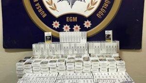 KOM'dan kaçakçılara 157 bin liralık darbe - Bursa Haberleri