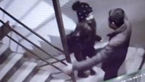 Önce öpüştüler, son soydular... O anlar kamerada