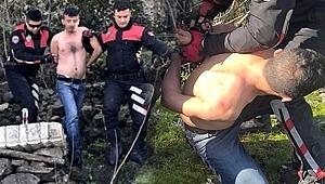 Ormanda yarı çıplak yakalanmıştı, İğrenç olayda karar çıktı