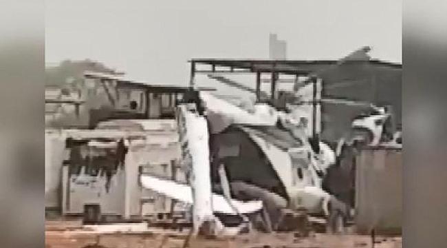 Sudan'da askeri helikopter düştü: 3 ölü