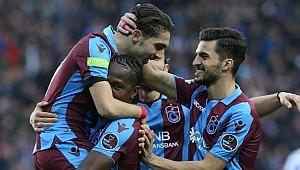 Trabzonspor, tek golle üç puana ulaştı
