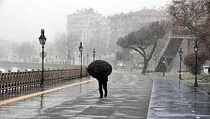 Trakya'da kar ve fırtına etkili oluyor