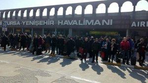 Uçaklar Yenişehir'e mecburî iniş yaptı - Bursa Haberleri