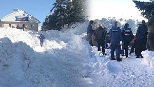 Uludağ'da kar faciası, 6 kişi kar kütlesinin altından kurtarıldı - Bursa Haberleri