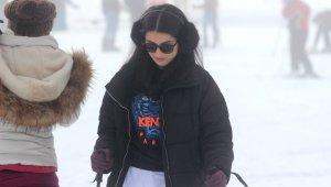 Uludağ'da sis altında kayak keyfi - Bursa Haberleri