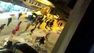 Uludağ'daki silahlı kavga anı cep telefonu kamerasında - Bursa Haberleri