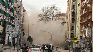 Üniversite binası çöktü, ortalık savaş alanına döndü