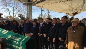 Ünlü doktor Mehmet Öz'ün babası Mustafa Öz son yolculuğuna uğurlandı