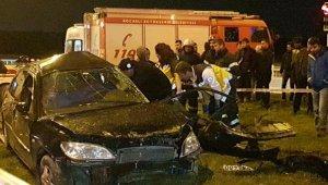 2 otomobil çarpıştı: 1 ölü