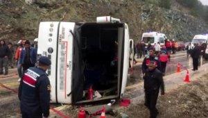 35 kişinin yaralandığı kazayı yapan şoför serbest kaldı - Bursa Haberleri