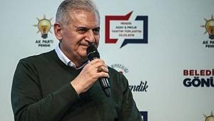 AK Parti İstanbul Belediye Başkan Adayı Binali Yıldırım Müjdeyi Verdi