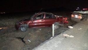 Aşırı alkol alan sürücü kaza yaptı: 4 yaralı